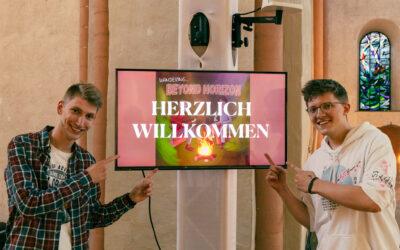 Beyond Horizon – eine Klanginstallation in der Kulturkirche