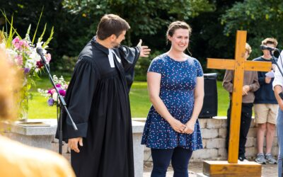 Die Kirchengemeinde Oberneuland begrüßt Sarah Flesch